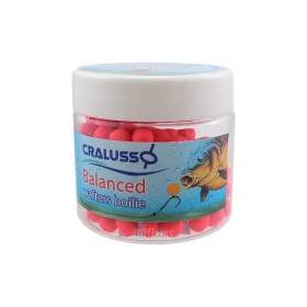 Tопчета Balanced Wafters Boilie Strawberry / Ягода 6 x 7 мм - Cralusso