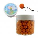Tопчета Ready to go mini boilie Fluo Scopex / Флуоро Скопекс 10 мм - Cralusso