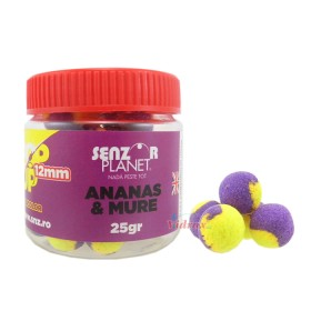 Tопчета Pop-Up Ananas & Mure 12 мм - 25 г - Senzor Planet