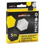 Ластик Micro-D Hollow Elastic 5 м 1.5 мм Черен 94612 - Tubertini