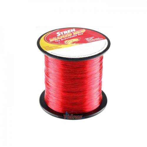 Влакно Stren Blood Red 400 yd/365 м - 0.022 in/0.55 мм