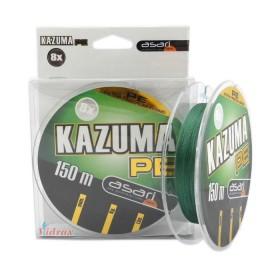 8 Нишково влакно Kazuma 8X PE 150 м - 0.10 мм - Asari