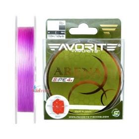 Влакно Arena PE 4x #0.2 150 м Purple - Favorite