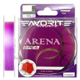 Влакно Arena PE 4x #0.2 100 м Purple - Favorite