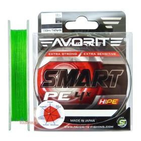 Влакно Smart PE 4x #0.4 150 м Light Green - Favorite