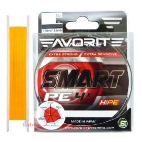 Влакно Smart PE 4x #0.4 150 м Orange - Favorite