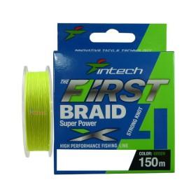 4 Нишково влакно First braid PE X4 #0.3 0.09 мм 150 м - Intech