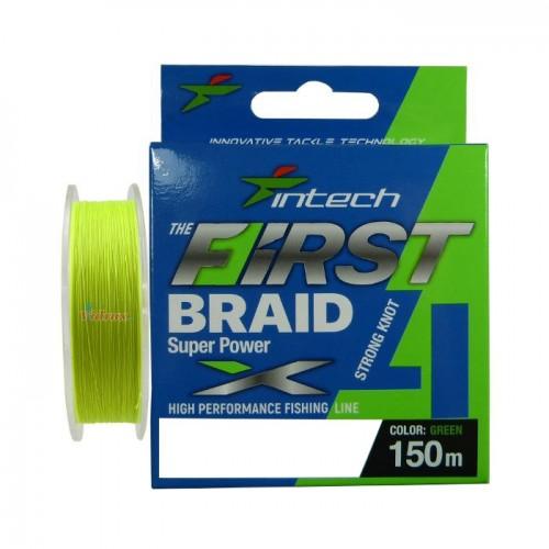 4 Нишково влакно First braid PE X4 #1.5 0.205 мм 150 м - Intech