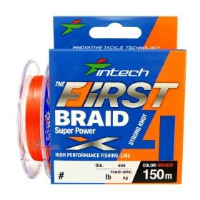 4 Нишково влакно First braid PE X4 #0.6 0.128 мм 150 м - Intech