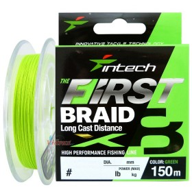 Влакно First braid PE X8 #0.6 0.128 мм 150 м - Intech