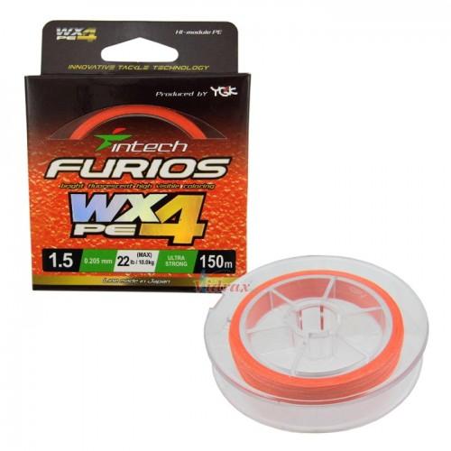 Влакно Furios PE WX4 #1.2 - 150 м - Intech