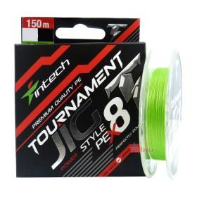 8 Нишково влакно Tournament Jig Style PE X8 #0.6 0.128 мм 150 м - Intech