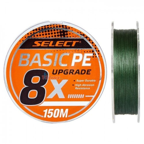 8 Нишково влакно Basic PE 150 м #1.5 0.18 мм Dark Green - Select