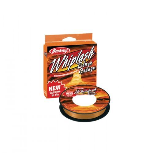 Плетено влакно Whiplash Blaze Orange 110 м - 0.24 мм - Berkley