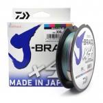Плетено влакно J-Braid x4 300 м - 0.19 мм - Daiwa