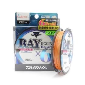 Плетено влакно UVF Bay Jigging x6 Braid + Si #1.2 - 200 м - Daiwa