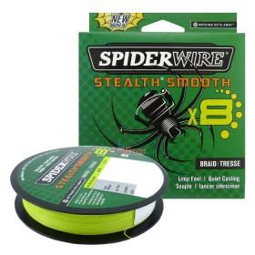 8 Нишково влакно Stealth Smooth Braid 150 м - 0.06 мм Жълто 1515614 - SpiderWire
