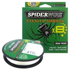8 Нишково влакно Stealth Smooth Braid 150 м - 0.20 мм Translucent 1515653 - SpiderWire