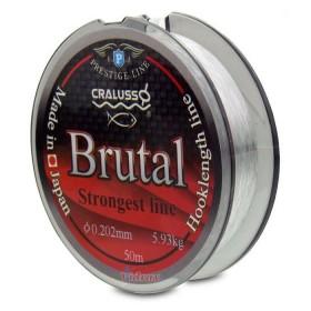 Влакно Hooklength line Brutal 50 м 0.10 мм - Cralusso